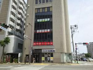 福岡パシフィック法律事務所のあるオリエントビル外観